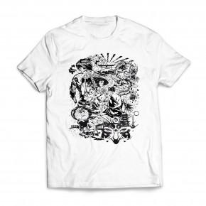 Tshirt Nihon White