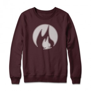 Smooth Wine Crewneck