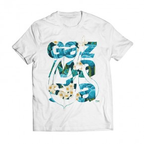 Tshirt Checaz Aloa White
