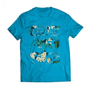 Tshirt Checaz Aloa Blue