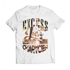 Tshirt Excess White