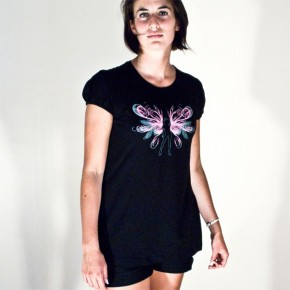 FlyDancer Black Tunic