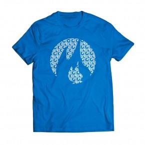 Tshirt Classic Estamp RoyalBlue