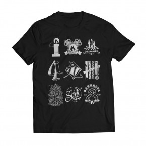 Tshirt Kyuti Black