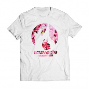 Tshirt Fall Sakura White