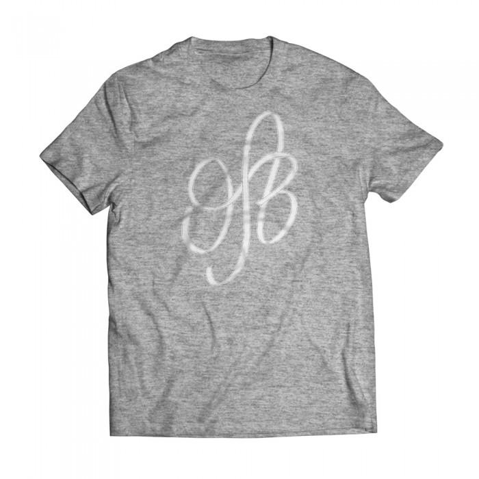 Tshirt Initials Grey