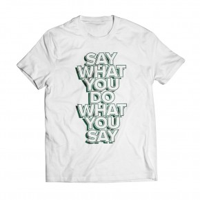 Tshirt Speech White