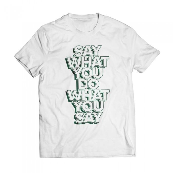Tshirt Speech White