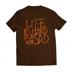 Tshirt Life Brown