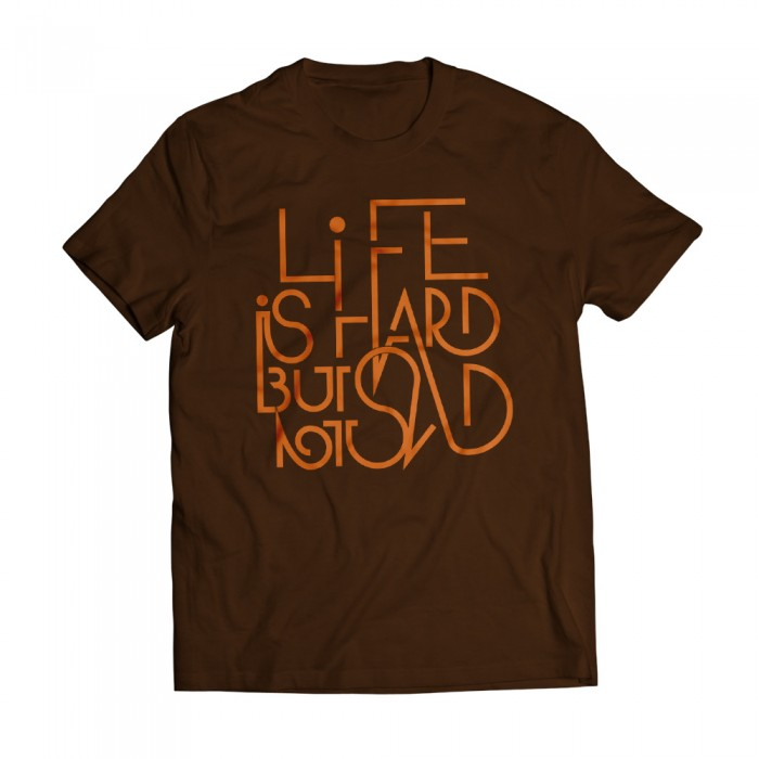 Tshirt Life Brown