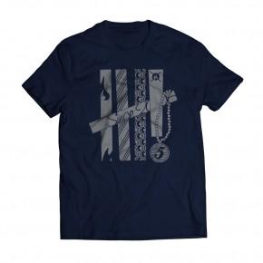 Tshirt Fifth Navy