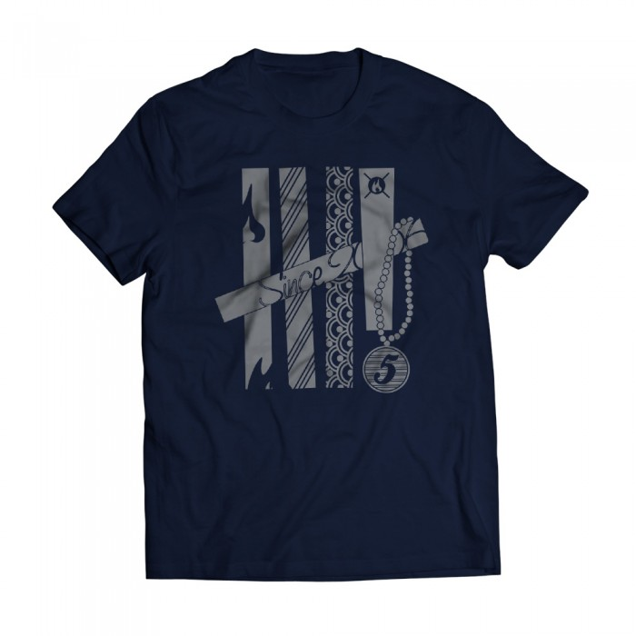 Tshirt Fifth Navy
