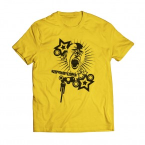 Awake Yellow Tee