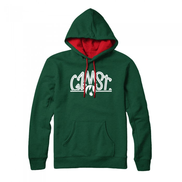 Gzmst Green Hoodie