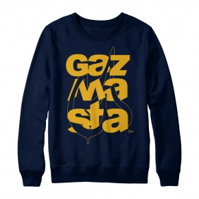 Checaz Navy Crewneck