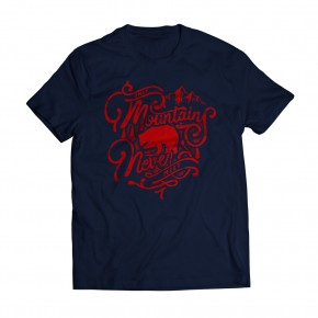 Tshirt Moutains Navy